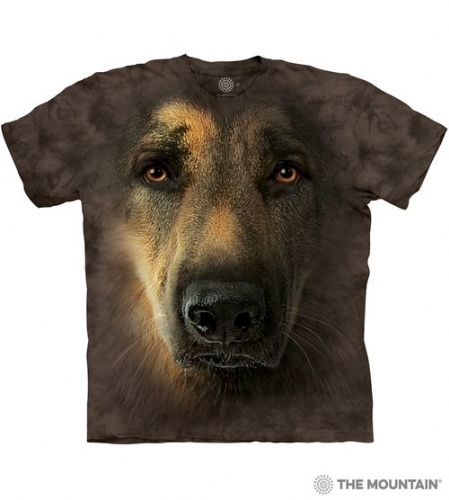 German Shepherd Portrait T-shirt | The Mountain®